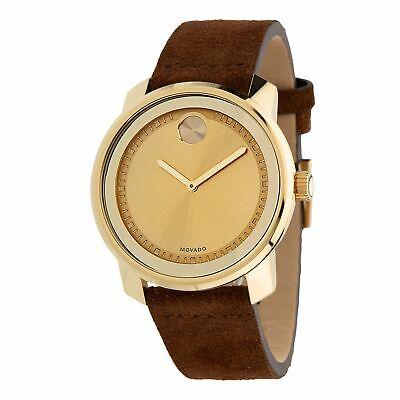 Movado 3600449 Men's Bold Gold-Tone Quartz Watch