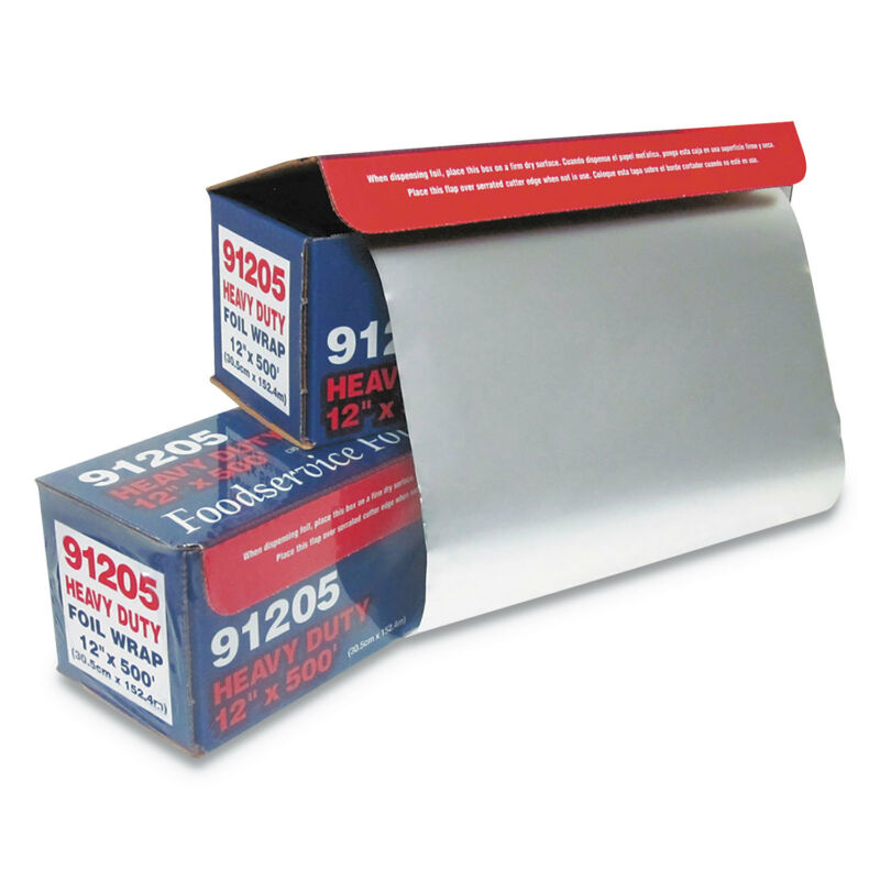 "GEN Heavy-Duty Foil Wrap, 12"" x 500 ft 7120"