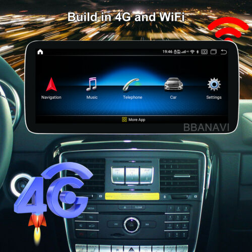 Android10 12.3inch Screen Display Multimedia GPS for Mercedes Benz G500 G63 G65