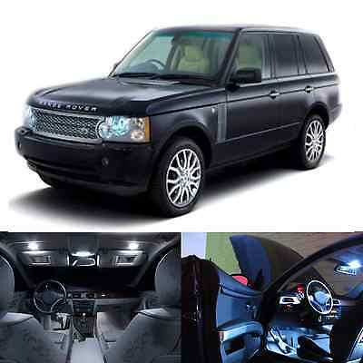 LED White Lights Interior Package Kit For Range Rover MKIII L322 (26 pcs)