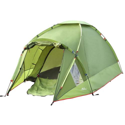 MoKo Waterproof Camping Tent, Double Layer 3 Person 4 Season