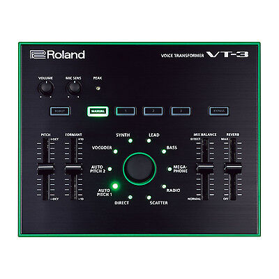 Roland AIRA VT-3 Voice Transformer Vocal Effects USB Processor w/ Reverb
