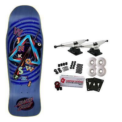 "Santa Cruz Skateboard Complete Winkowski Eighth Dimension Powerply 10.34"""
