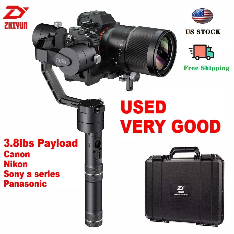 Used Zhiyun Crane V2 3-Axis Handheld Stabilizer Gimbal for DSLR Cameras, Sony