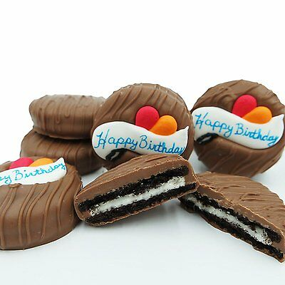 Philadelphia Candies Milk Chocolate Covered OREO� Cookies, Happy Birthday Gift
