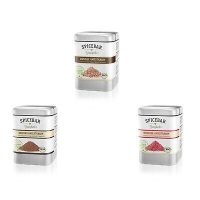 14€/100g Spicebar Gewürz süß für Porridge, Oatmeal und Müsli,  Bio (1 x 70g )