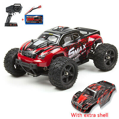 REMO 1/16 RC Car Monster Truck 4WD Off-road Brushed Remote Control + Batteries