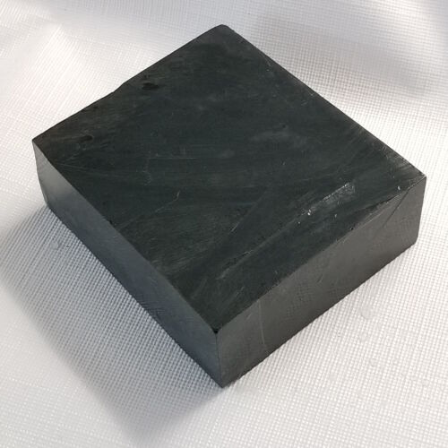 Black Steatite Carving Stone,for Peace Pipe & Crafts, Soapstone Slab  15L