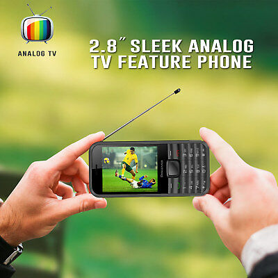 Kocaso Discover Tv Cell Phone Television Feature  Dual Sim  Analog Tv Built In
