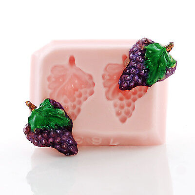 Grape Cluster Silicone Mold Jewelry Mold Perfect size for Earrings Charms (763)