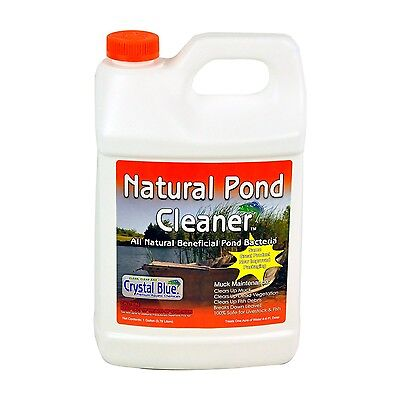 Natural Pond Cleaner Muck/Algae Digester Pond/Lake 1 Gallon/Acre 4-6 ft. -