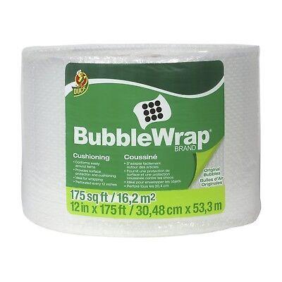 Duck Brand Bubble Wrap Roll 316 Original Bubble Cushioning 12 X 175 Pe...