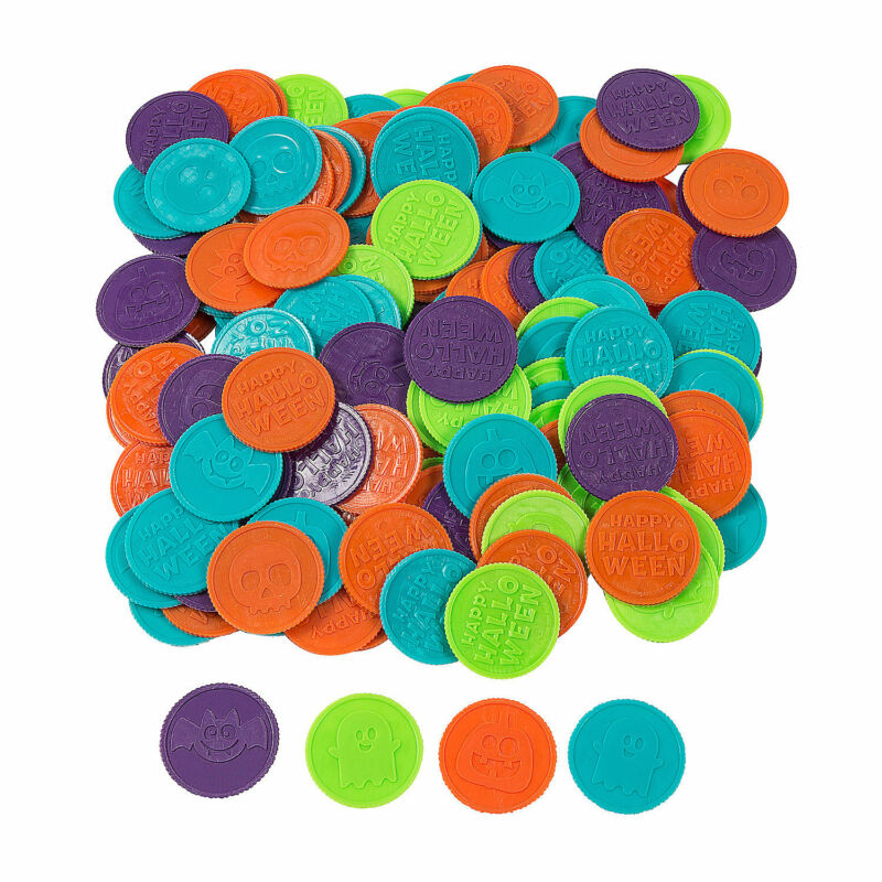 Halloween Coins - Toys - 144 Pieces