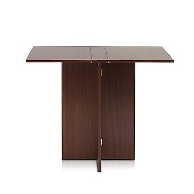 Dining Tables For Small Spaces Kitchen Folding Compact Computer Desk Wood Office ()