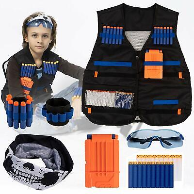 Tactical Vest Kit for Nerf Guns N-Strike Elite Series - Nerf Gun Accessories - N