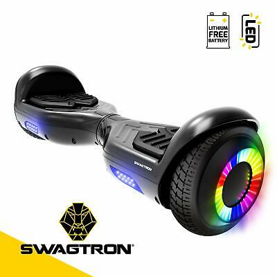 "Swagtron T881 Twist Hoverboard Dual 250W Motors w/ LED 6.5"" Wheels Lithium-Free"