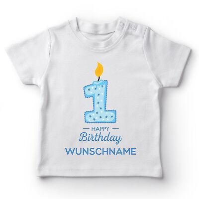 hname Geburtstag Jungen Geschenk Kleinkind Fun Baby T-Shirt  (Happy Birthday Kleines Mädchen)