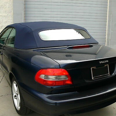 Volvo C70 Convertible Top for 1999-2006 in Blue Stayfast with Glass Window