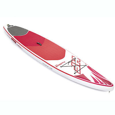 Bestway Hydro Force Inflatable 12 Foot Sup Stand Up Paddle Board Kayak W  Pump