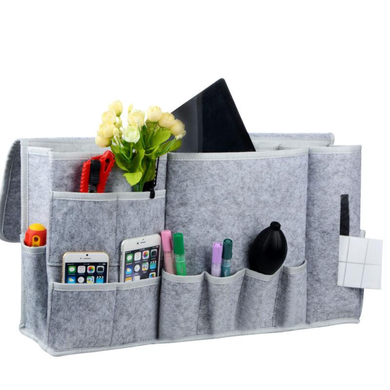Bedside Storage Caddy Hanging Bag Felt Sofa Organizer Pocket