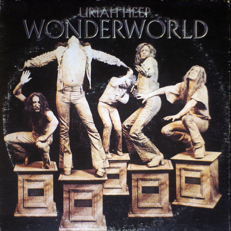 Uriah Heep - Wonderworld EX/VG B5-1528 Vinyl LP - $13.00