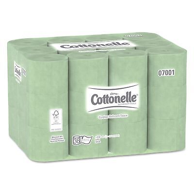 Cottonelle - Two-Ply Coreless Bathroom Tissue Toilet Paper 36 ROLLS 800 Sheet/Rl