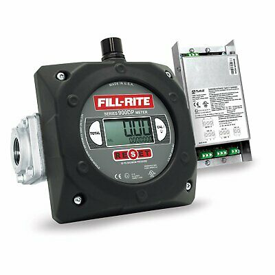 Fill-rite 900cdp 6 - 40 Gpm 1-inch Npt Thread Digital Pulse Output Meter