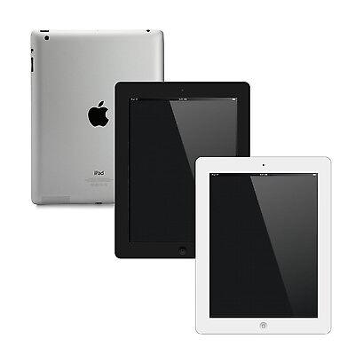 Apple iPad 2, 3, 4   16GB,32GB,64GB or 128GB   Black White Wi-Fi 1-YEAR WARRANTY