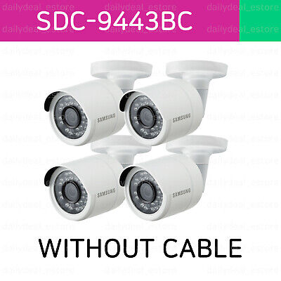 [Lot of 4] Samsung SDC-9443BC WITHOUT CABLE **Pre-Owned** CAMERA ONLY