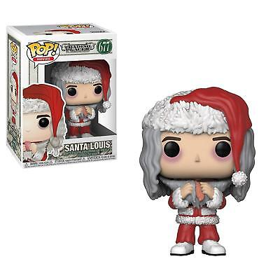 Funko Pop Movies: Trading Places Santa Louis with Salmon 677 34892 In stock - Santa Pop