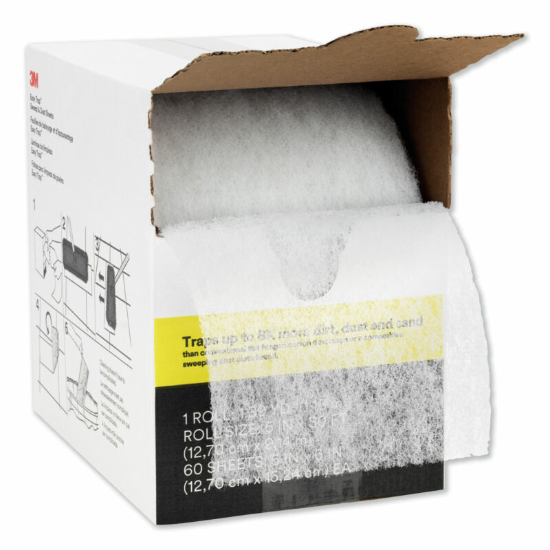 """3M Easy Trap Duster 5"""" X 30ft 60 Sheets/box 59032"""