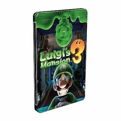 Luigi's Mansion 3 Steelbook (SOLO CAJA)