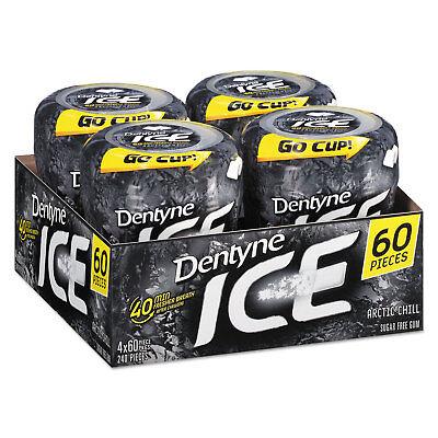 Dentyne Ice Sugarless Gum Arctic Chill 60 Pieces/Bottle 10512 ()