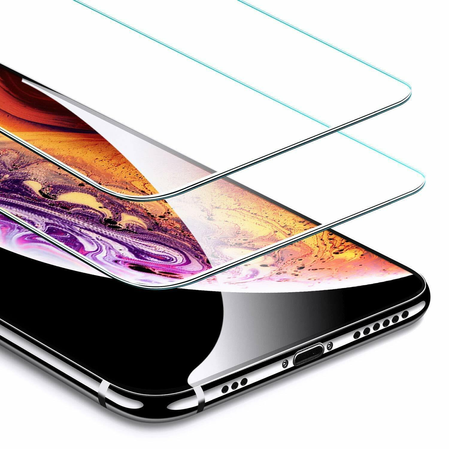 2X Tempered Glass Screen Protector for iPhone 11 PROMAX (6.5″) Cell Phone Accessories