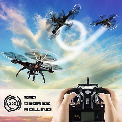 Syma X5SW-V3 WIFI FPV RC Quadcopter Drone With HD Camera 2.4Ghz 4CH Drone Black