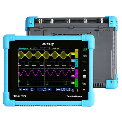 Micsig To1104 Digital Tablet Oscilloscope 100mhz 4 Ch 28mpts Battery Software