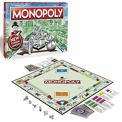 Monopoly Classic Family Board Game Original Traditional Fun Play Toys - Monopoly Classic
