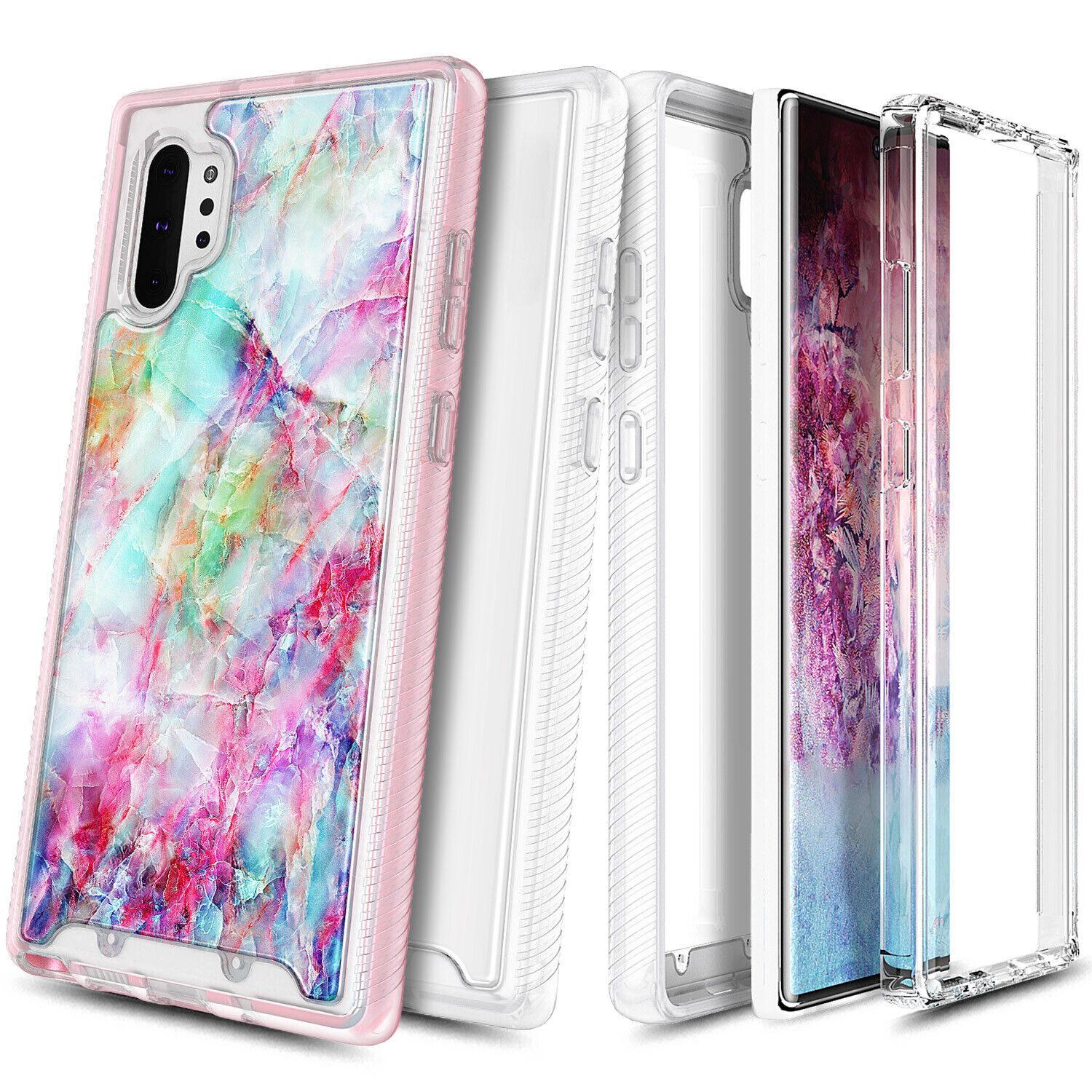 For Samsung Galaxy Note 10 / Note 10 Plus Case Full Body Protection Phone Cover