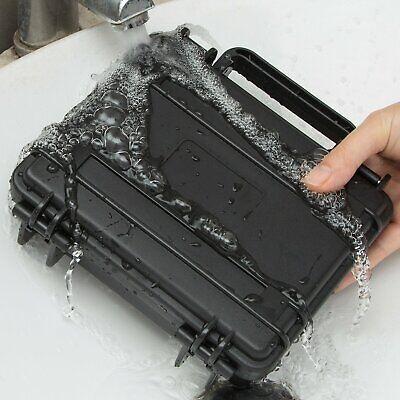 Utility Hard Case Black Protective Travel Drone Camera Storage Waterproof UK NEW