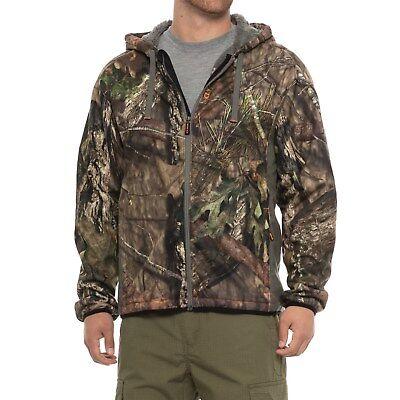 ff981f9e55cb6 NOMAD Harvester Full Zip Hooded Hunting Jacket - Mossy Oak Break Up Camo  Size M