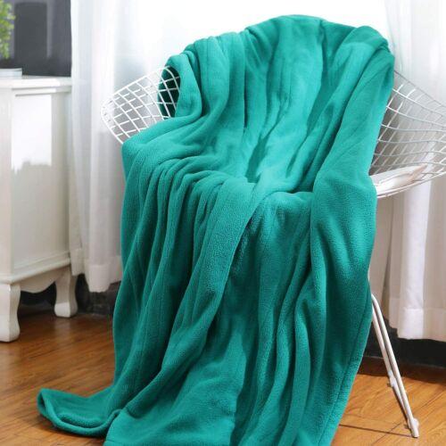 MaxKare Electric Heated Throw Blanket Polar Fleece 50
