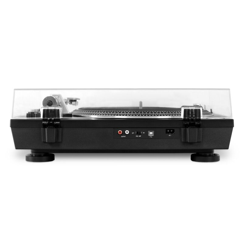 NEW VICTROLA VPRO-2000 BLK PROFESSIONAL TURNTABLE BLUETOOTH RECORD VINYL TO MP3