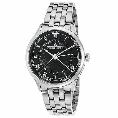 Maurice Lacroix MP6507-SS002-310 Men's Masterpiece Silver-Tone Automatic Watch