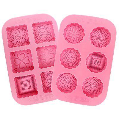 Формачки для мыла 2pcs 6-Cavity Silicone