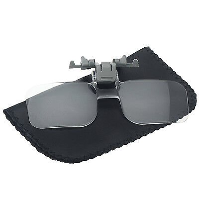 Clip Vorsetzbrille 2 Fach Vergrößerung Vorsetzlupe Sehhilfe Lesehilfe Lesebrille