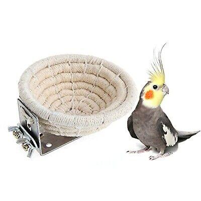 Handmade Cotton Rope Bird Breeding Nest Bed for Budgie Parakeet Cockatiel 1 -