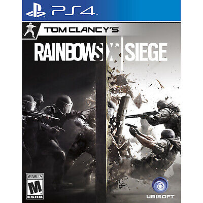 Tom Clancy's Rainbow Six: Siege PS4 [Factory Refurbished]