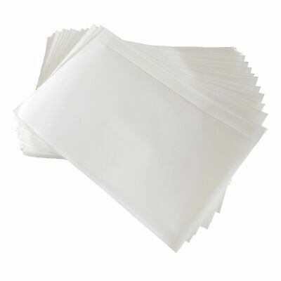 100 500 1000 Clear Adhesive Packing List Shipping Label Envelope Pouch 7.5 X 5.5