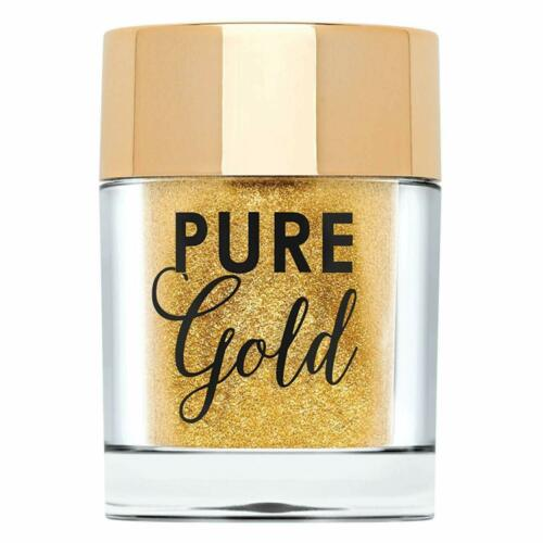TOO FACED Pure Gold Ultra-Fine Face & Body Glitter, .07 oz