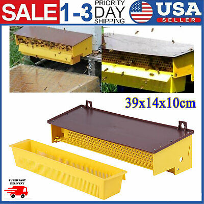 Yellow Plastic Beekeeping Pollen Trap Collector For Apiculture Beekeeping Tool